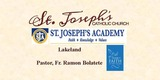 Sponsor - St. Joseph's Catholic Church, Lakeland