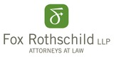 Sponsor - Fox Rothschild LLP